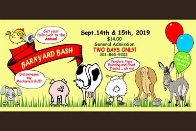 Fall Petting Farm Kick Off poster
