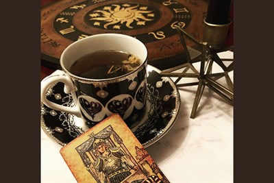 Haunted Tea & Tarot at Old Mill Cafe