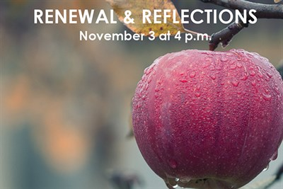 Reflections and Renewal poster