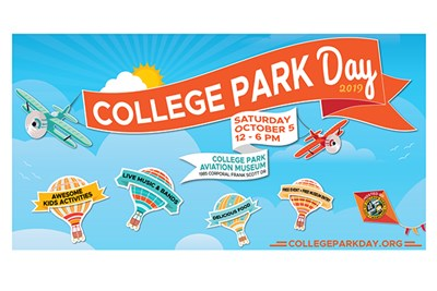 College Park Day Banner