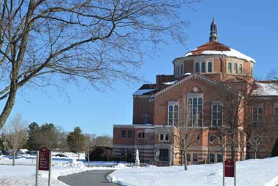 Seton Shrine in Wintertime