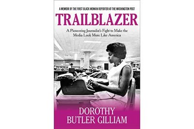 The cover of Dorothy Butler Gilliam's book,  Trailblazer