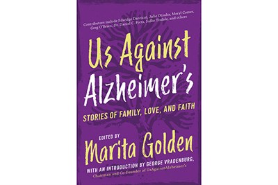 Marita Golden's Us Against Alzheimer's Book Cover