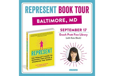 Kate Black, Represent Book Tour Poster