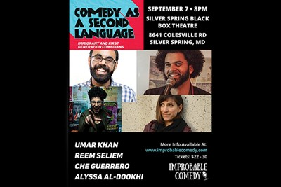 Comedy as a Second Language poster