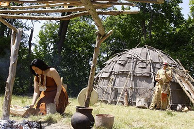 Woodland Indian Village