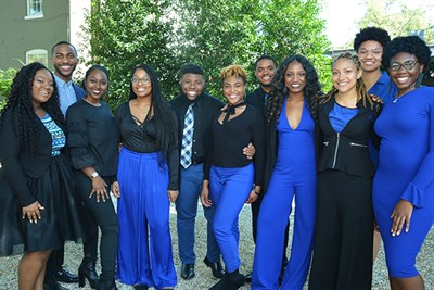 Afro Blue group