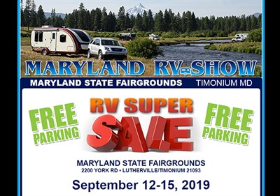 Maryland RV Show poster