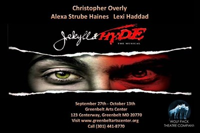 Jekyll & Hyde: Wolf Pack Theatre poster