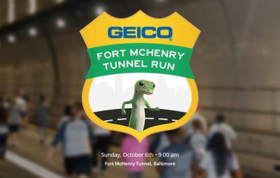 GEICO Fort McHenry Tunnel Run poster