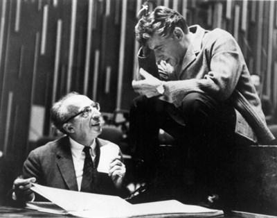 Aaron Copland and Leonard Bernstein