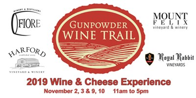 Gunpowder Wine Trail Wine Cheese Event Royal Rabbit Vineyards