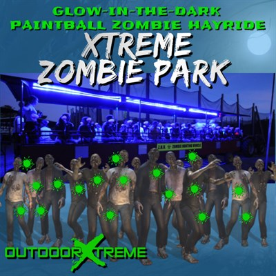 Xtreme Zombie Park Paintball Hayride poster