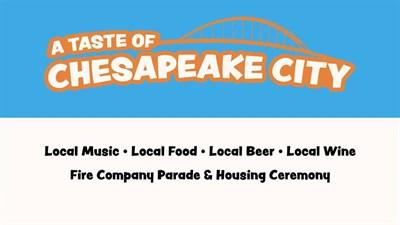 Taste of Chesapeake sign