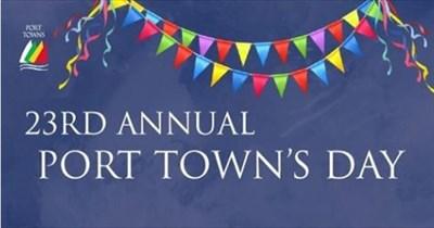 Port Towns Festival poster