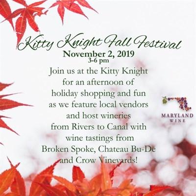 Kitty Knight Fall Festival flyer