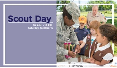 Scout Day at the Medical Museum poster