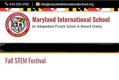 Fall STEM Festival poster