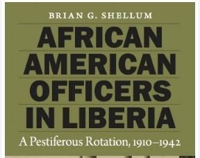 African American Officers in Liberia Book Cover