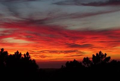 Colorful Sky at Banneker Park