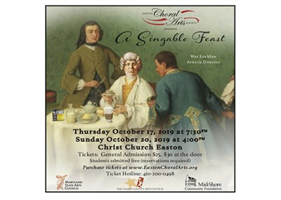 A Singable Feast poster