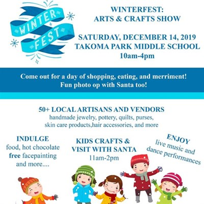 Winterfest: Arts and Craft Fair poster