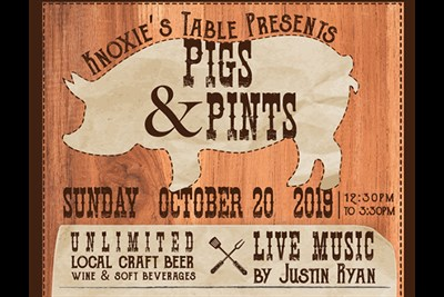 Pigs & Pints Poster