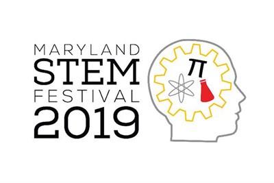 Maryland Stem Festival 2019 logo