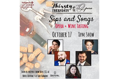 Thirsty Thursdays at the Opera: Sips and Songs