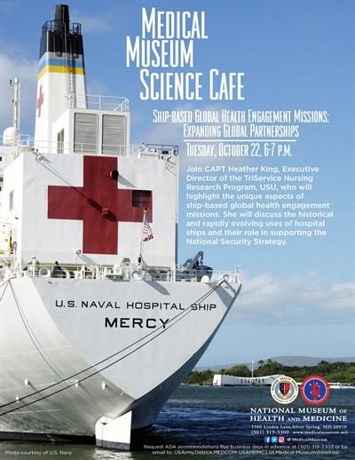 Medical Museum October 2019 Science Cafe