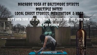 Yoga in Greenmount Cemetery