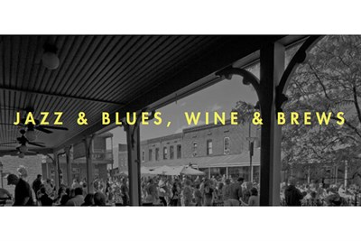 Jazz & Blues, Wine & Brews poster