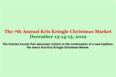 Kris Kringle Market poster