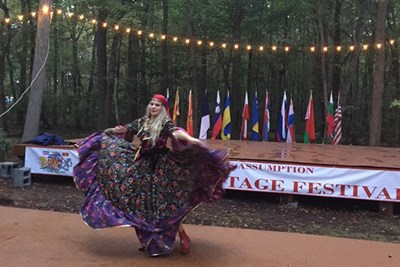 A Dancer at the Slavic Heritage Festival