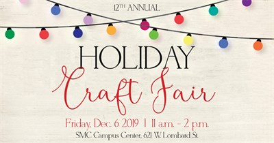 UMB Holiday Craft Fair Poster
