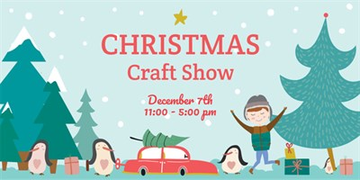 craft show poster