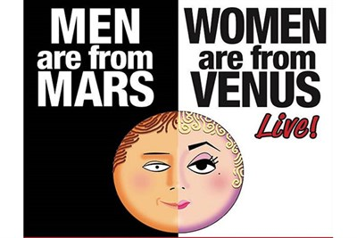 Men Are From Mars - Women Are From Venus LIVE! poster