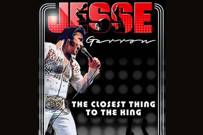 Jesse Garron's Tribute to Elvis Christmas Show poster