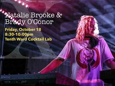 Natalie Brooke, local keyboard player and singer