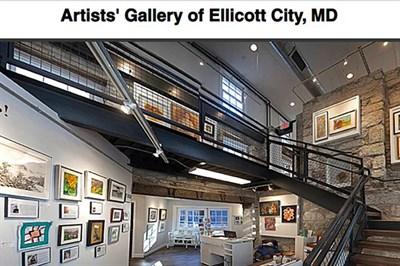 Inside the Artist's Gallery