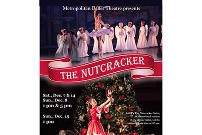Metropolitan Ballet Theatre's Nutcracker poster