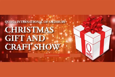 Quota Club Christmas Gift and Craft Show poster