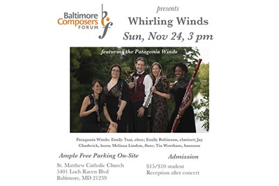 """Whirling Winds"" Concert Poster"