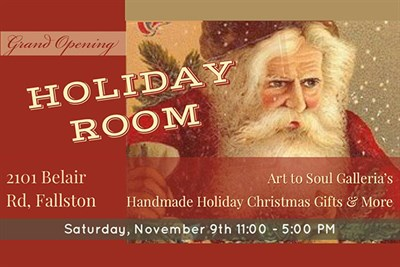 Holiday Room Grand Opening poster