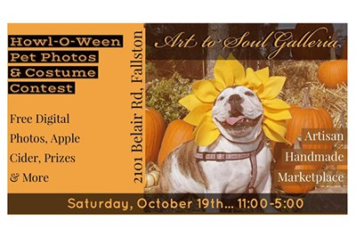 Howl-O-Ween Spooktacular FREE Pet Photo & Costume Contest poster