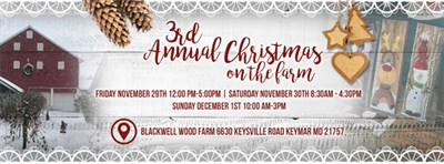 3rd Annual Christmas on the Farm