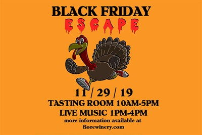 Black Friday Escape poster