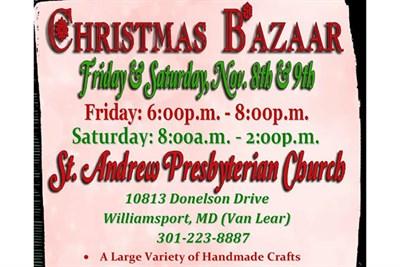 Christmas Craft Bazaar poster