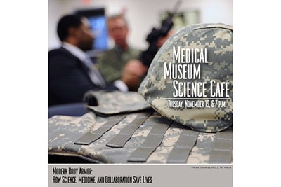 NMHM November 2019 Medical Museum Science Cafe