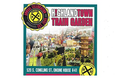 Highlandtown Train Garden Flyer